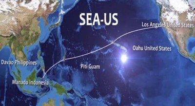 2.5亿美元的东南亚-美国海底光缆系统竣工
