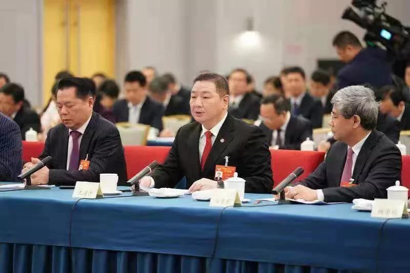 总理与委员共商国是 王建沂委员参加民建、工商联界别联组会并发言