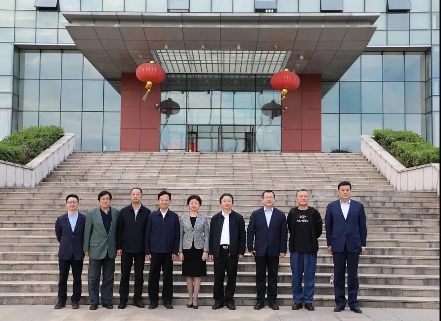 辽宁省委常委、统战部部长范继英一行调研通鼎集团