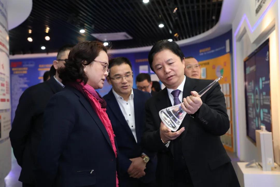 通鼎动态丨苏州市委常委、宣传部部长金洁调研通鼎