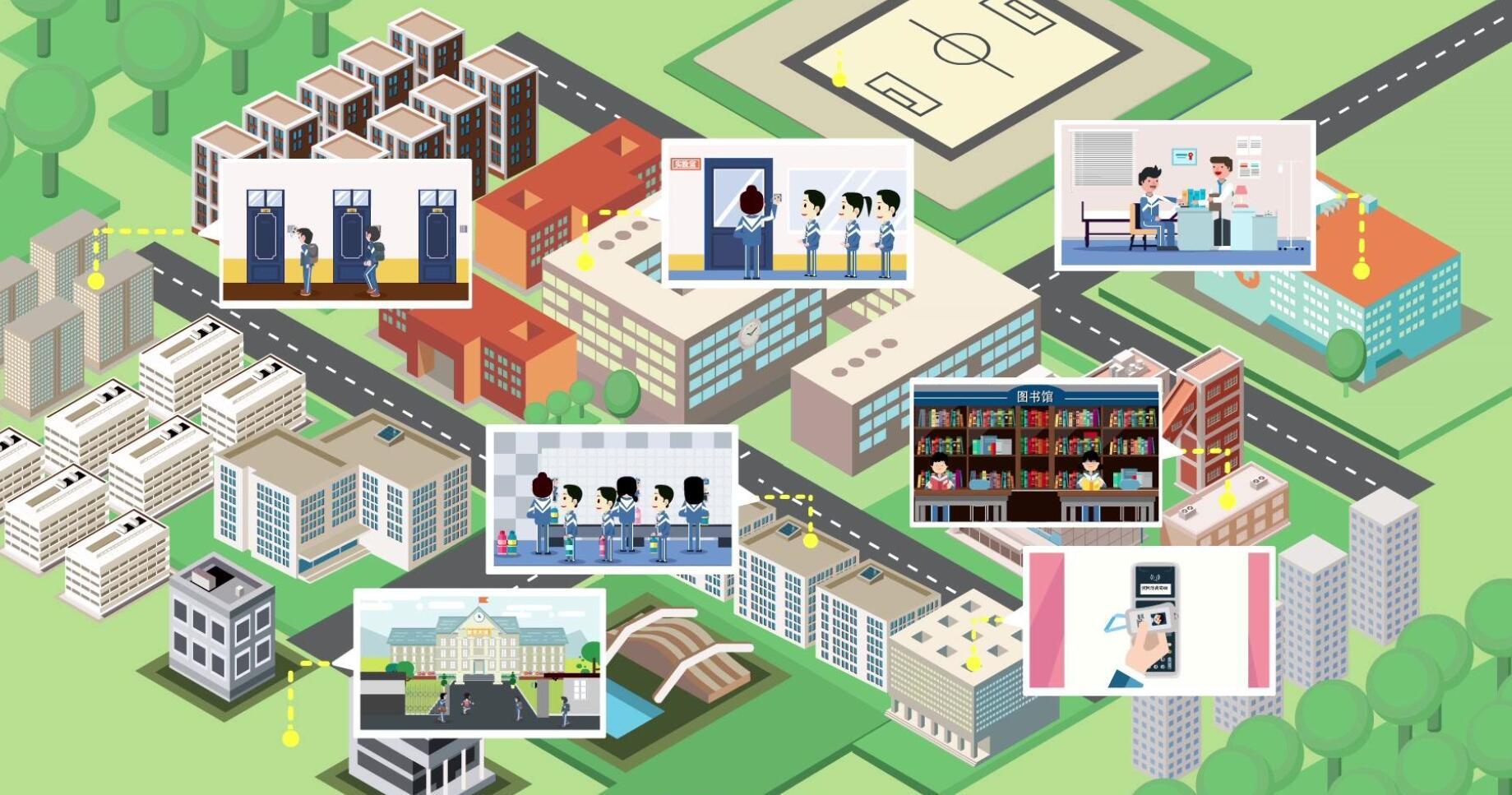 烽火全光网络联合沙北实验学校建设区域标杆智慧校园