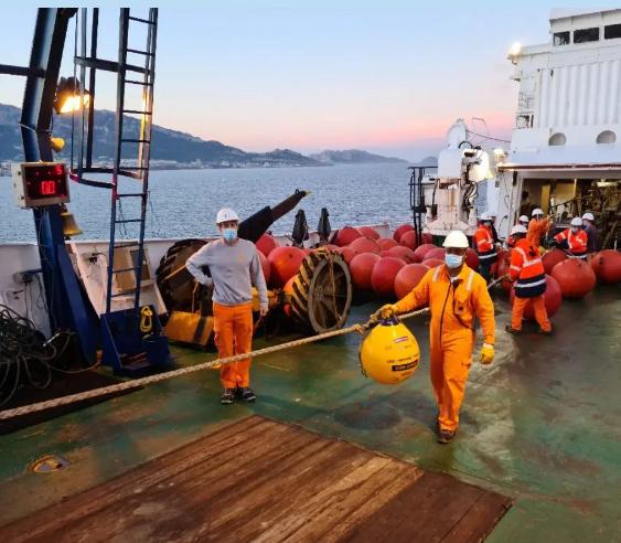 PEACE 国际海缆系统成功登陆法国马赛!