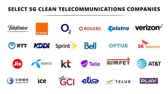 """美国公布5G""""干净网络列表""""24家运营商放弃华为设备"""