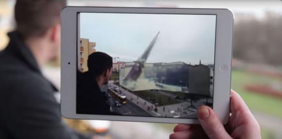Metaio的技术应用在iPad上